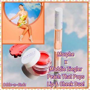 Morphe x Maddie Ziegler Lip & Cheek Duo BRAND NEW!